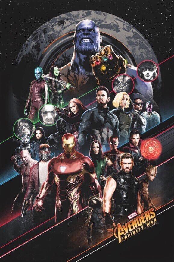 New Avengers Infinity War Promo Art Source Ig Aldo1718 Avengers Poster Avengers Pictures Marvel