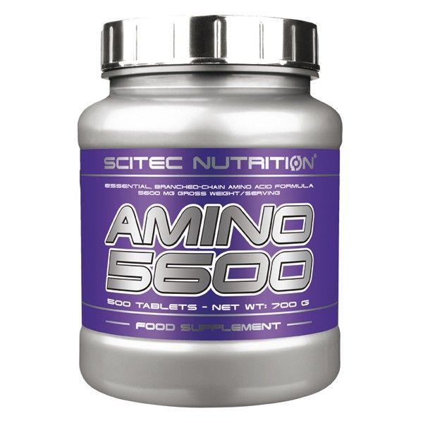 AMINO 5600 de Scitec contribuye al aumento de la masa magra y a la conservación del tejido muscular #aminoacidos #suplementos #fitness