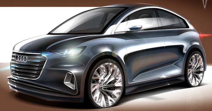 Controversial Audi A2 Comes Back To Life With 2017-Worthy Looks #Audi #Audi_A2