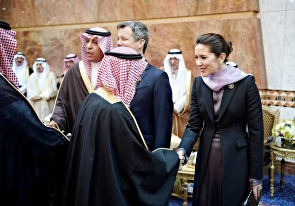 28 February 2016 - The Royal Palace of Riyadh. Saudi Arabia