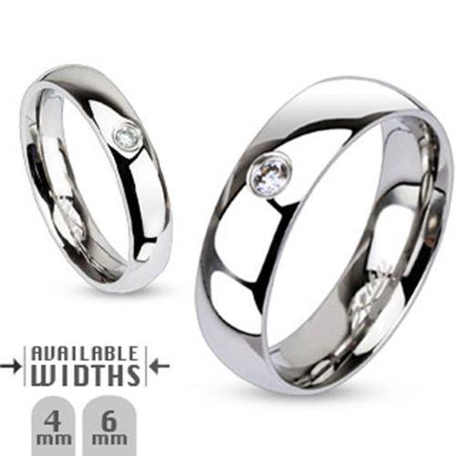 Damen-Herren-Edelstahl-Ringe-Bandringe-Damenringe-Verlobungsringe-Partnerringe