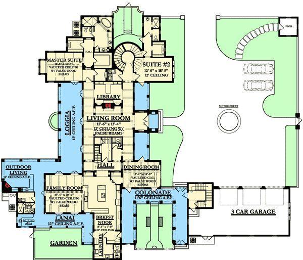 Apartment Site Plans Landscape Architecture House Plans Courtyard House Plans Mountain House Plans