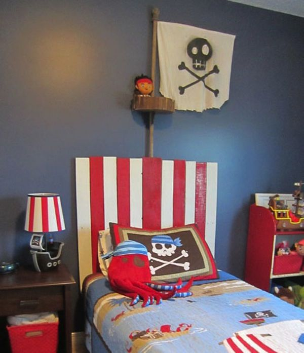 habitacion infantil piratas