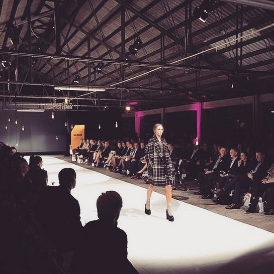 Taylor at fashion for a cure show. #taylor #taylorboutique #fashionshows #fashionforacure #newzealandfashion