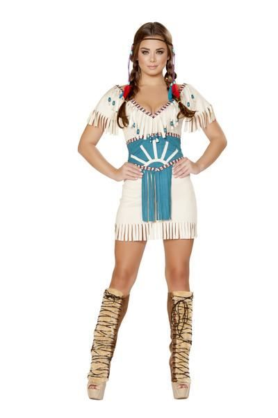 Sexy red indian costume