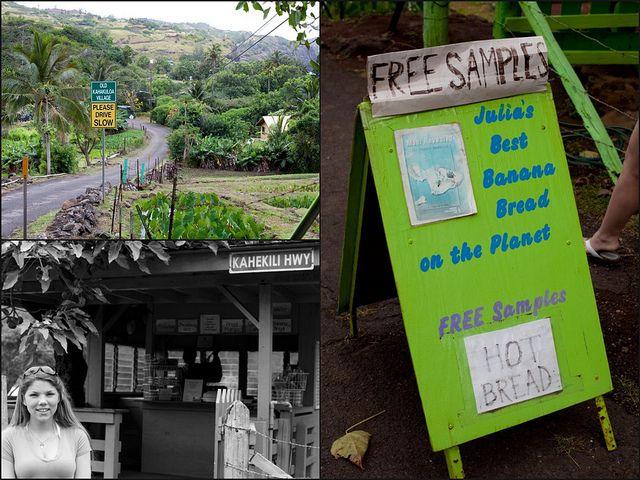 Julia's Banana Bread, Kahakoloa, Maui. Best banana bread on island!
