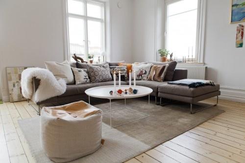 Vardagsrum vardagsrum soffa : Grå soffa | Vardagsrum | Pinterest