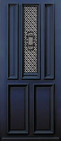 Een nostalgische hardhouten voordeur. Panelen met fraaie afgewerkte randen, accentueren de opvallende roosters op een subtiele manier. De metalen roosters zijn voorzien van een draairaampje aan de binnenkant, om zomers van de frisse lucht te genieten. Albo brengt nostalgie en hedendaagse luxe bij elkaar. Ook geïnteresseerd in deze deur + montage en complete ontzorging neem dan een kijkje op www.simonmaree.nl !