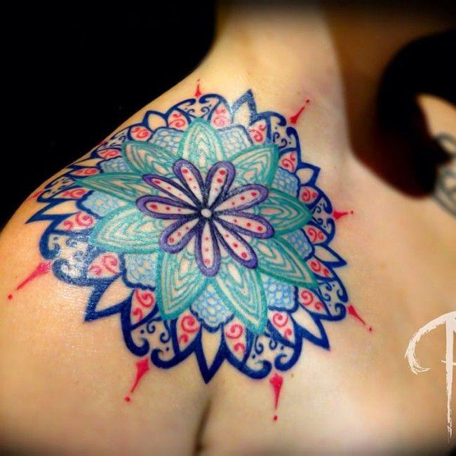170 Impressive Shoulder Tattoos For Men And Women nice