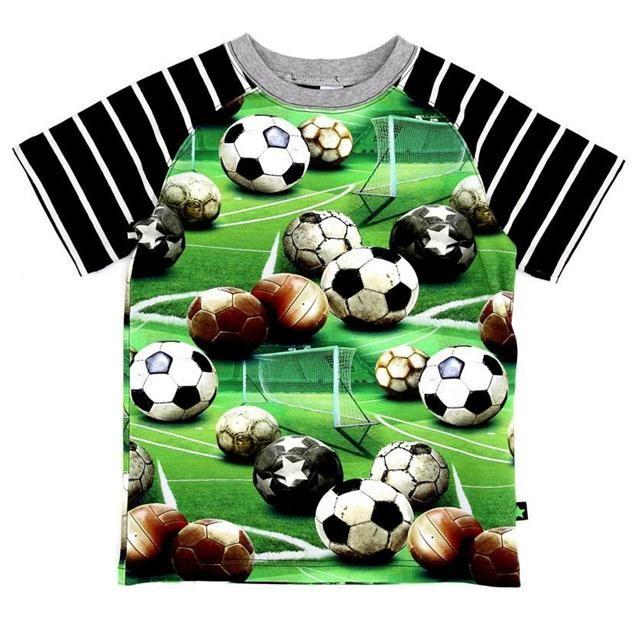 Football Fever! Molo Kids Molo Boys Rollo Top - Soccer | MonkeyMcCoy