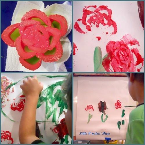 Preschool Craft Mustaches