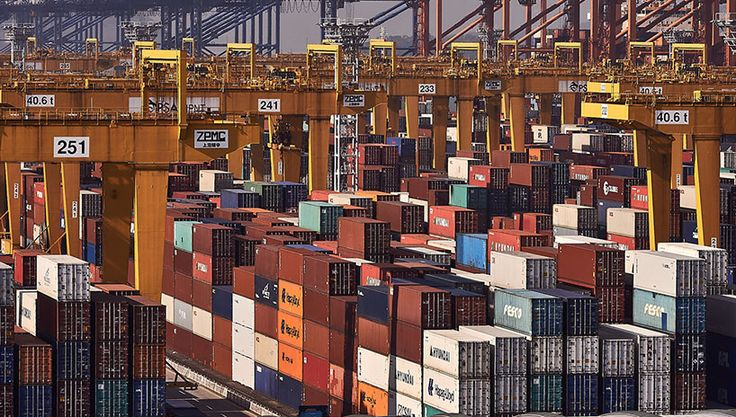 Overwhelmed by the presence of containers and the space optimization, photographer Manuel Alvarez Diestro presents 'Boxification', a series that reflects on sea freight containers in a collection of images captured across Asian ports. New Busan Port, South Korea.