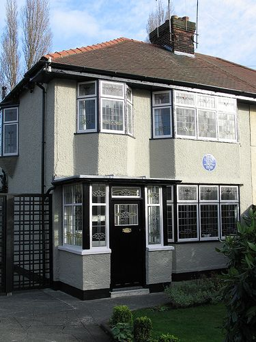 John Lennon's childhood home. Liverpool England (I used to walk past this place whenever I walked home from high school)