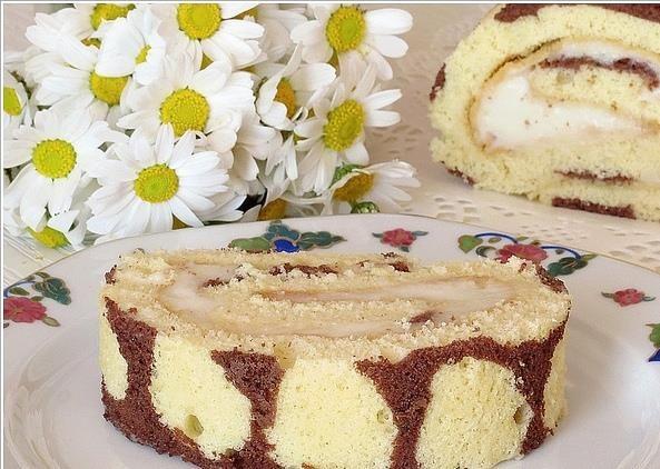 Leopar Desenli Kekli Pasta | Kek Tarifleri resimli kolay pratik videolu izle değişik