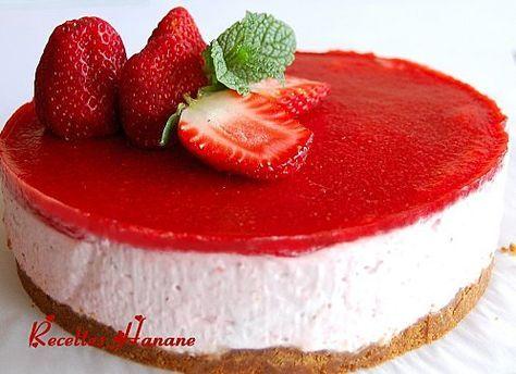 Bavarois fraise speculoos (en Francais)