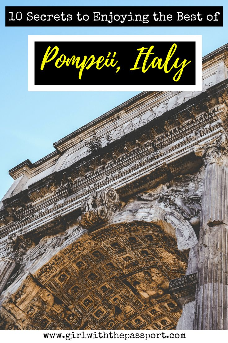 Pompeii Italy is an amazing place where you can view the mummified Pompeii Italy bodies, as well as take stunning Pompeii Italy photography to capture the beauty of the Pompeii Italy ruins. But before you visit, make sure you avoid these all too common Pompeii Italy travel mistakes.