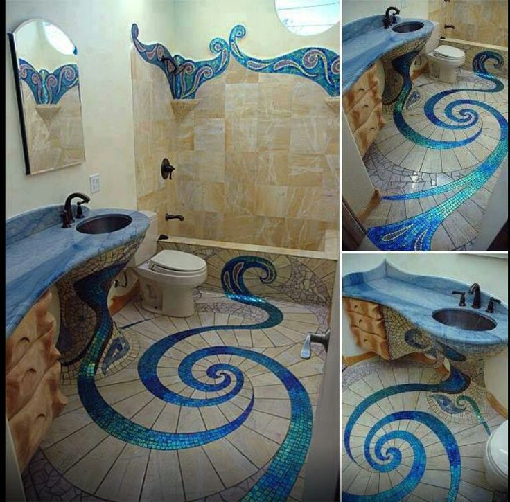 mermaid bathroom agenda pinterest. Black Bedroom Furniture Sets. Home Design Ideas
