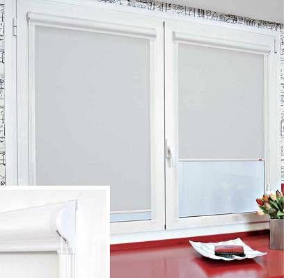 Estores integrados en la hoja de la ventana
