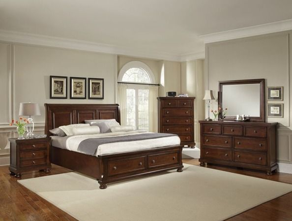 This Collection maintains an air of regal splendor and classic luxury. Meticulous craftsmanship exudes every piece with a Made In North American spirit and attitude. Retreat and relax in your calm surroundings every night while you enjoy the character and warmth of your North American made bedroom suite.