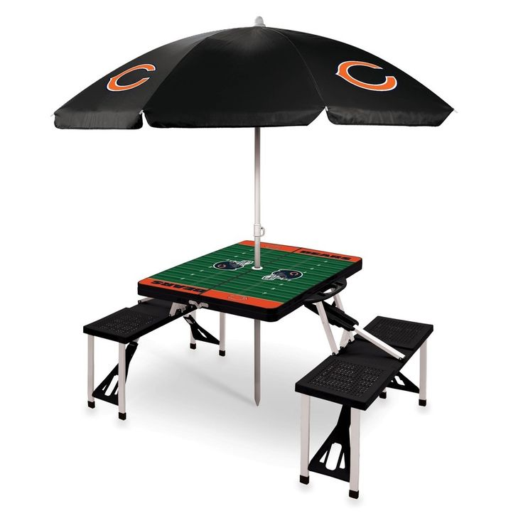 Sport Picnic Table w/Umbrella