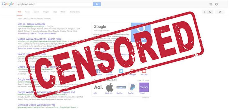 Canada Supreme Court orders Google to de-index site globally opening door to censorship