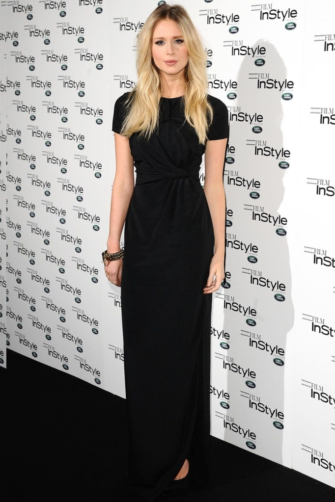 Diana Vickers at InStyle Magazine 10th anniversary celebration - 22 Nov 2011