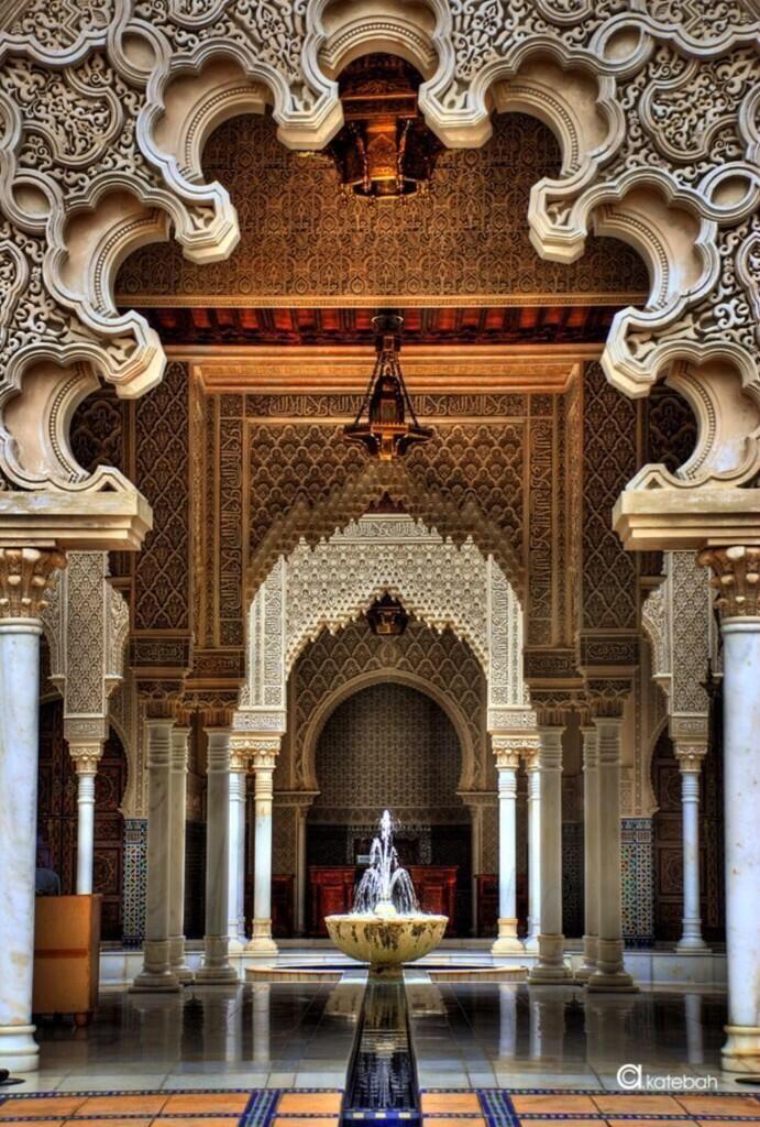 La Alhambra, Granada, España.