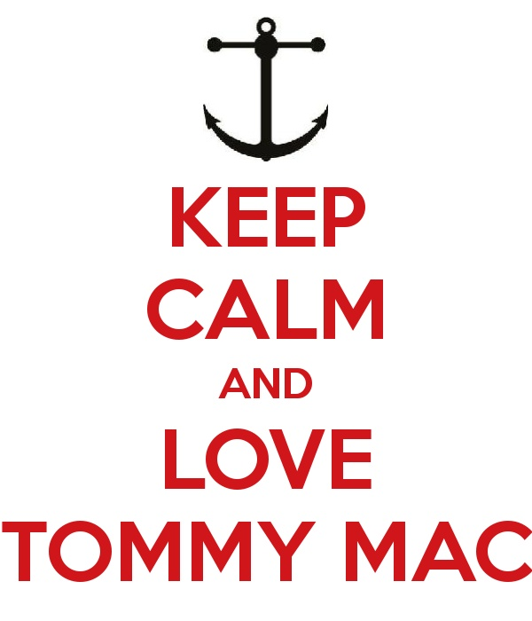 Keep Calm and Love Tommy Mac (b/c it's not just about Jacob Hoggard)