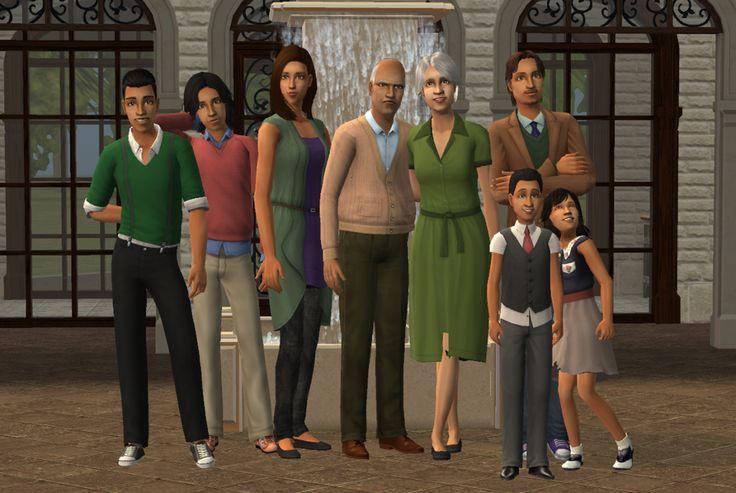 The Monty family of Veronaville
