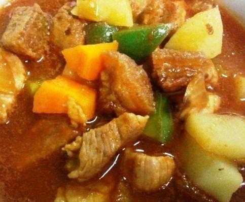 Pork Mechado - Mely's kitchen