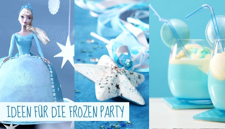 Egal ob Basteltipps, Inspiration für die Deko oder Spielideen - hier finden Sie alles für den Eiskönigin Geburtstag. • Foto & Styling: Thordis Rüggeberg