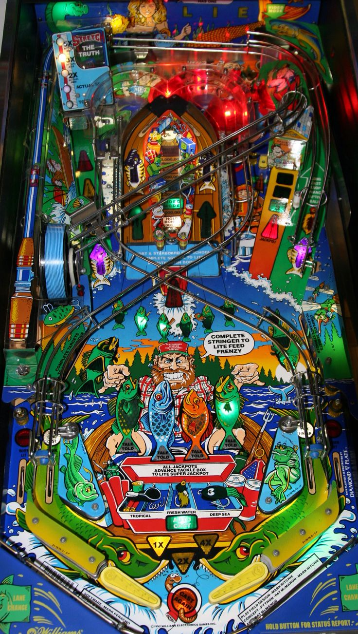 102 Best Pinball Art And Playfields Images On Pinterest