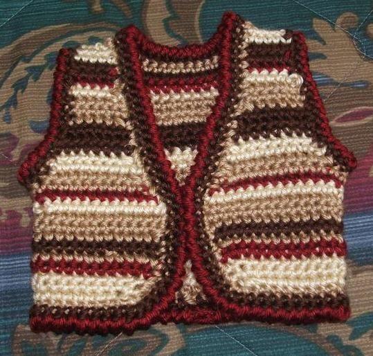 Saddle Tramp Vest-Free Crochet Pattern