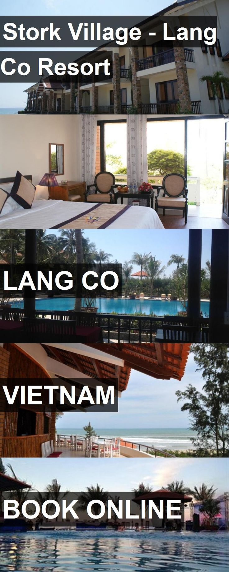 Hotel Stork Village - Lang Co Resort in Lang Co, Vietnam. For more information, photos, reviews and best prices please follow the link. #Vietnam #LangCo #hotel #travel #vacation