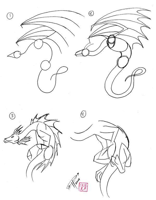 картинки драконов как они рисуют думаю, что каждого