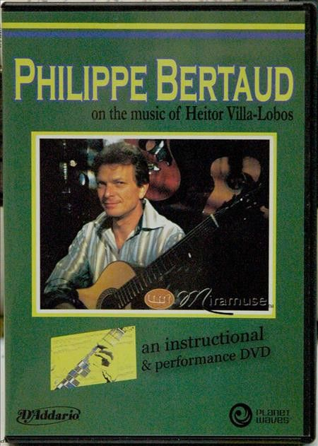 Philippe Bertaud On The Music Of Heitor Villa-Lobos (DVD)