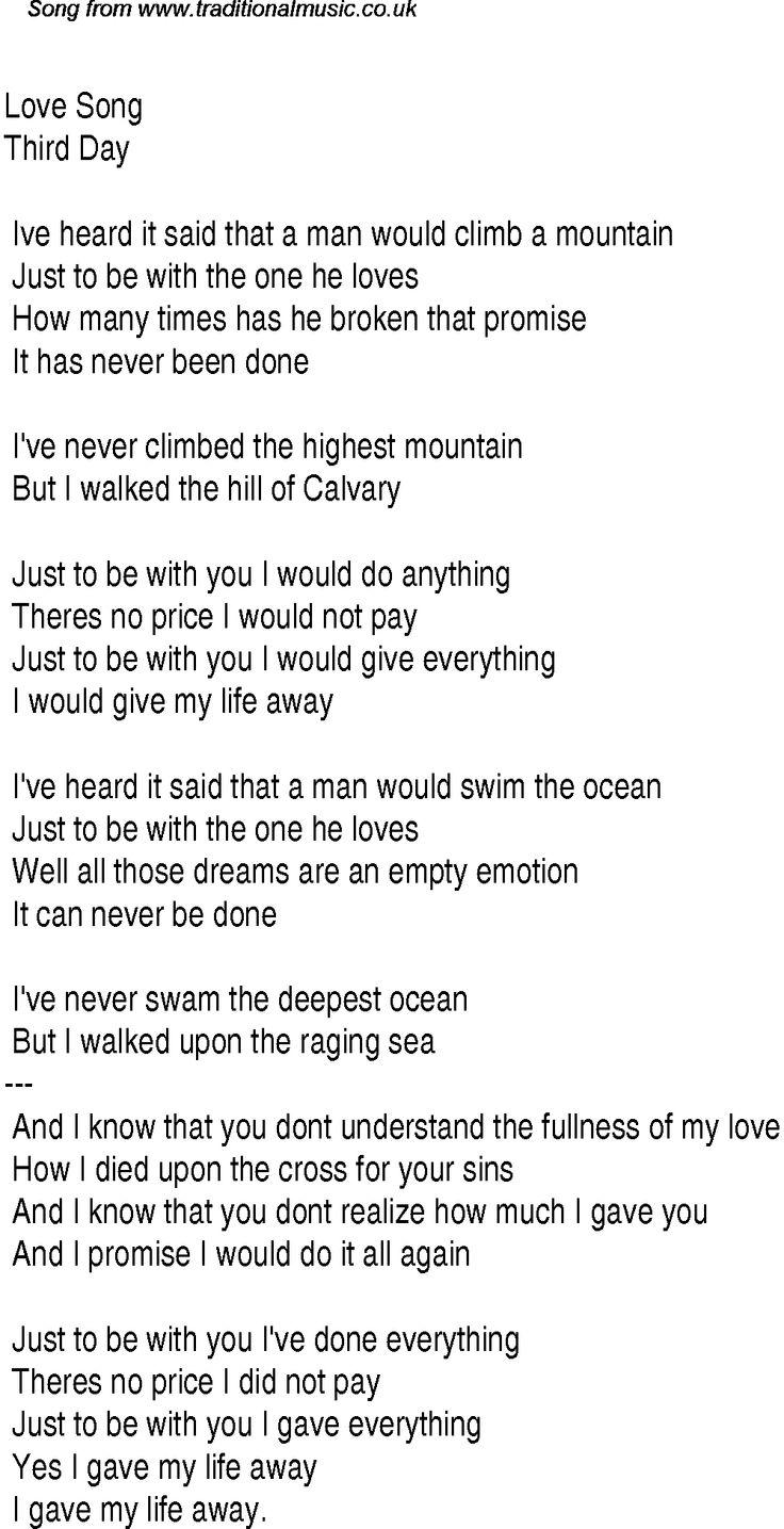 Gospel worship songs lyrics