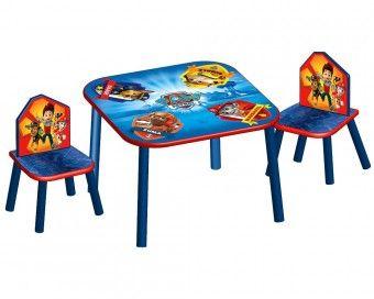 Dětský stůl s židlemi Tlapková patrola