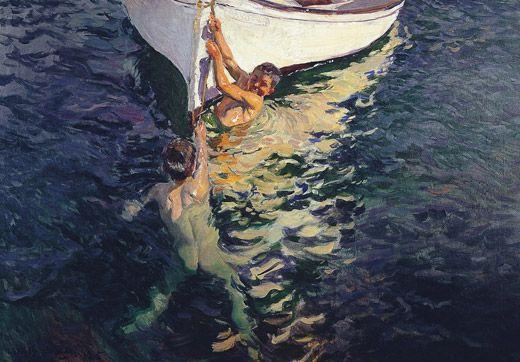 El bote blanco