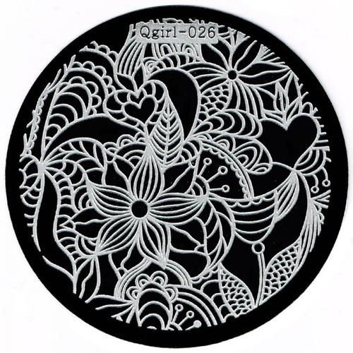 Nails - NAIL ART IMAGE STAMPING PLATE (QGIRL-SERIES) for sale in Virginia (ID:217506268)