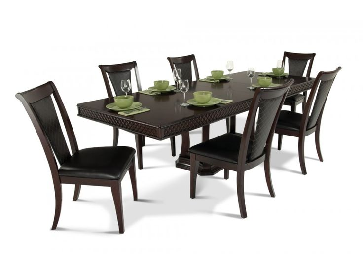 discount dining room furniture sets | Number 5 7 Piece Dining Set | Dining Room Sets | Dining ...
