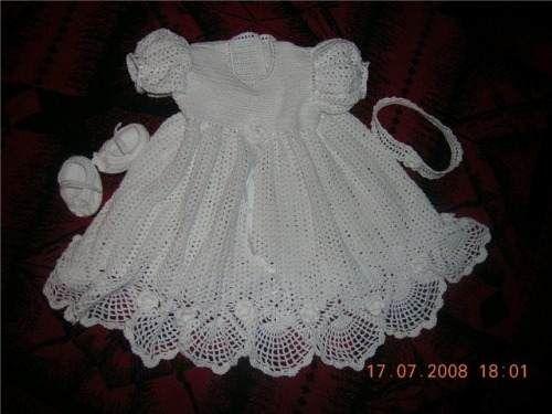 vestidos de bebe a crochet - Buscar con Google