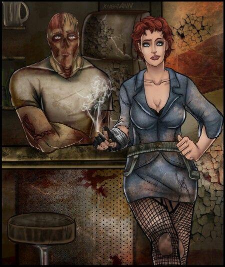 Fallout 3 Fan Art: Gob And Nova Megaton Fallout 33