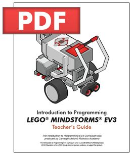 Would love to have this for Calum someday. Teacher Guide (http://www.education.rec.ri.cmu.edu/content/lego/ev3/)