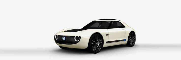 honda's sports EV concept is a retro-styled electric S2000 sports car