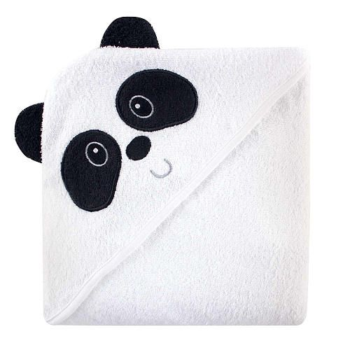 """Luvable Friends Animal Face Hooded Terry Towel - Panda - Baby Vision - Babies """"R"""" Us"""