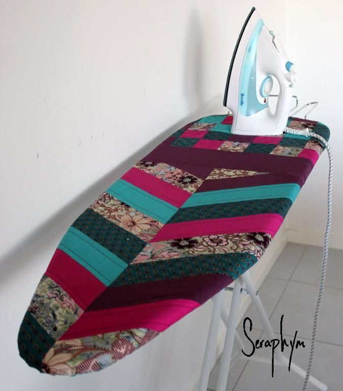 Quilted Ironing Board Cover – Free Pattern by Seraphym HM  #quilting #DIY http://patternpile.com/quilt-patterns/quilted-ironing-board-cover-free-pattern-by-seraphym-hm/ #sewing