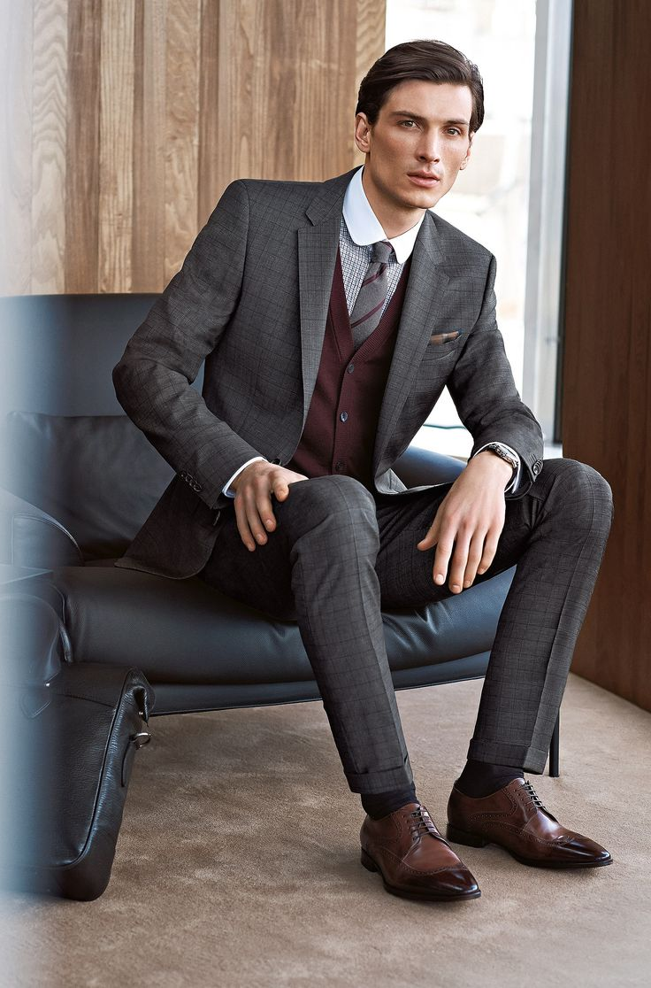 1000  images about Suits on Pinterest | Wool, Wool suit and Hugo