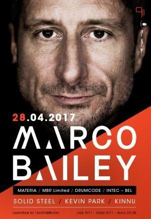 Belgialaissyntyinen Marco Bailey kuuluu teknon ja elektronisen musiikin pioneereihin. Dj:nä ja tuottajana työskentelevä Bailey saapuu maailmaan kiertäessään tanssittamaan 9/11-yökerhoon Tallinnaan 28.4. Tuolloin saa tampata. #eckeröline #tallinna #marcobailey #9/11