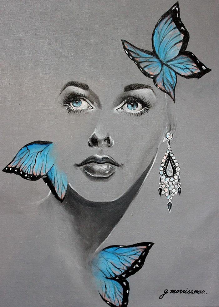 Peinture Acrylique , 2013 , g.morrisseau